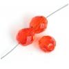 Fire Polished 12mm Orange